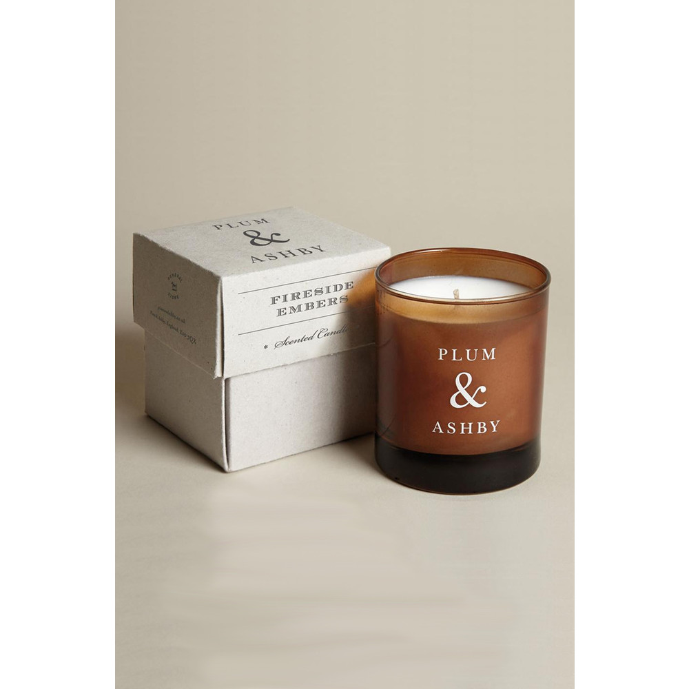 Plum & Ashby Fireside Embers Scented Candle