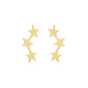 Tada & Toy Shooting Star Studs