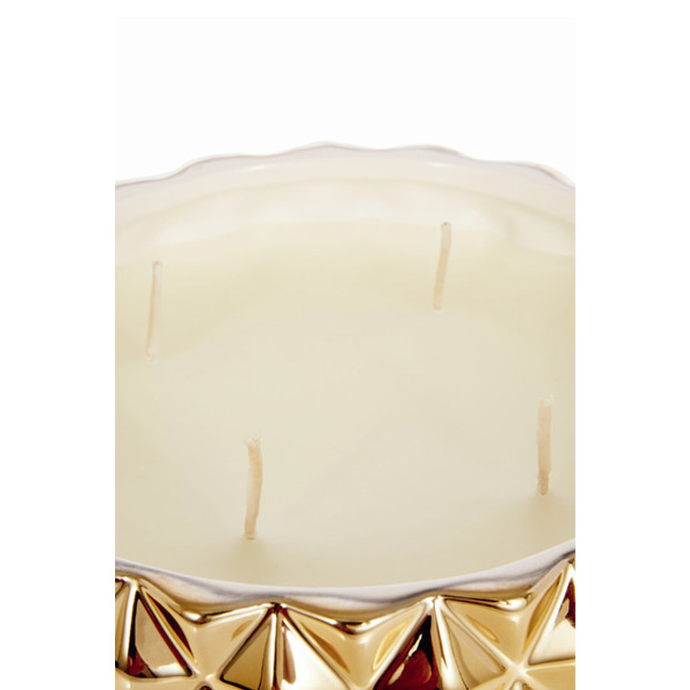 Coveted London Four Wick Candle Gold