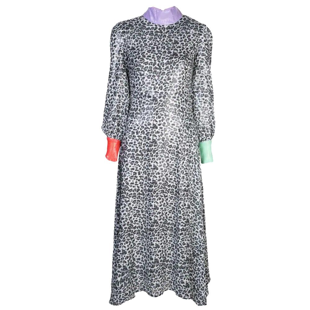 Olivia Rubin Amelie Leopard Dress
