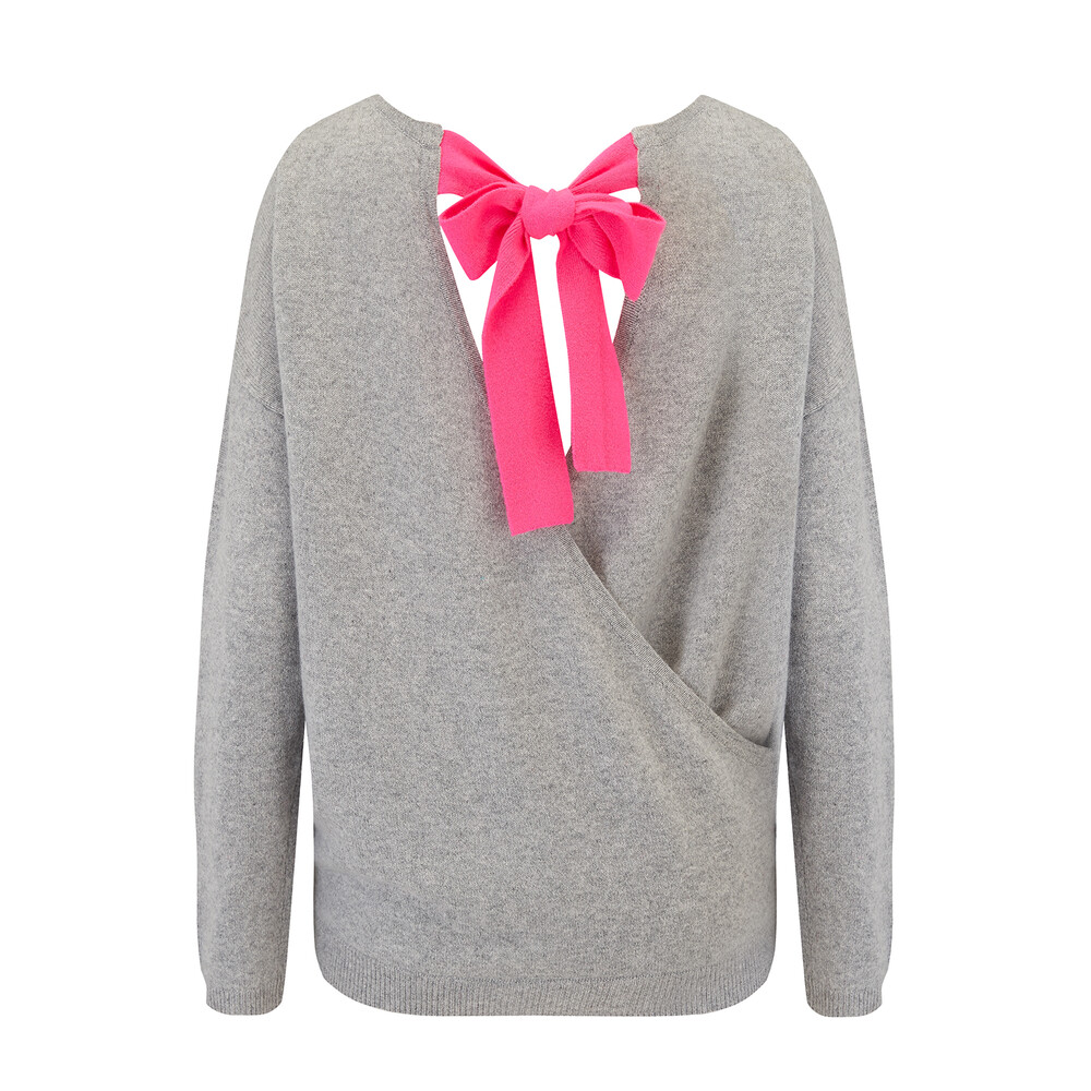 Absolute Cashmere Jumper With Fluro Back Tie
