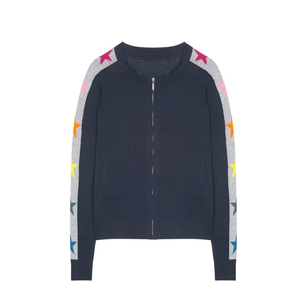 Wyse Polly Stars And Stripes Bomber