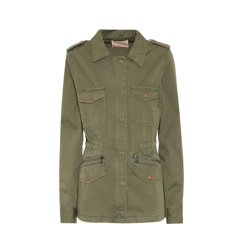 Velvet Ruby Forest Jacket Green