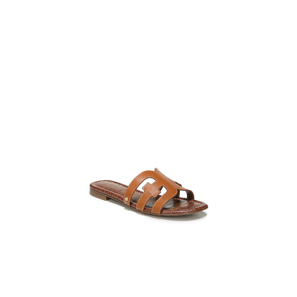 Sam Edelman Bay Leather Sandals Brown