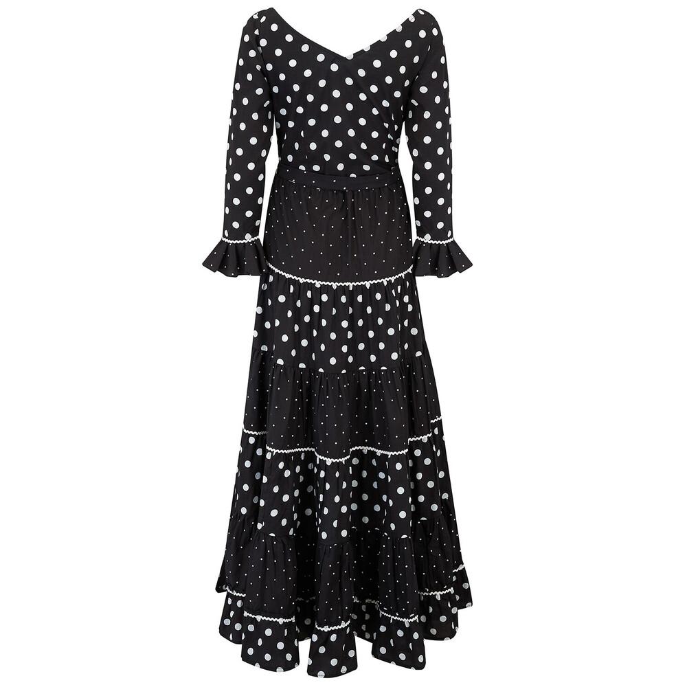 Pink City Prints Flamenco Dress