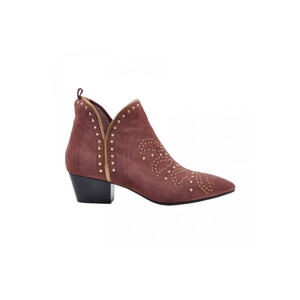 Sofie Schnoor Dusty Rose Studded Suede Boots