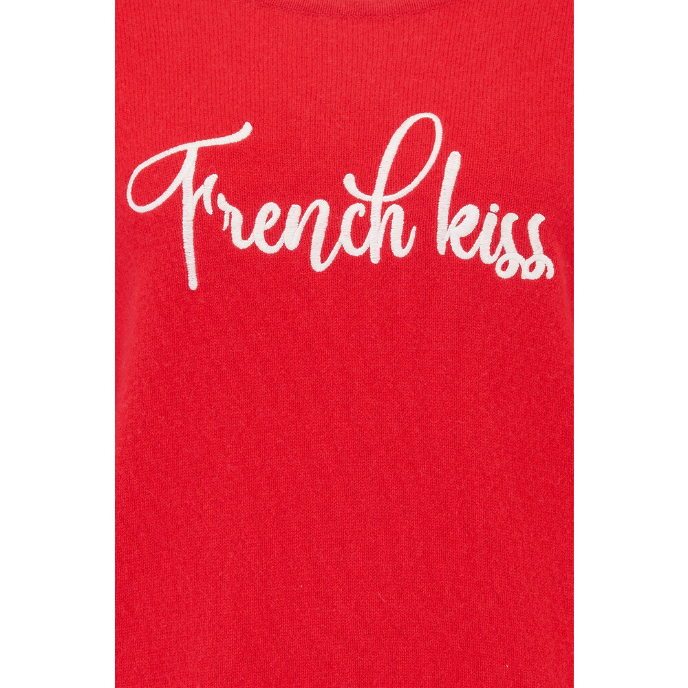 Absolute Cashmere French Kiss Jumper Red