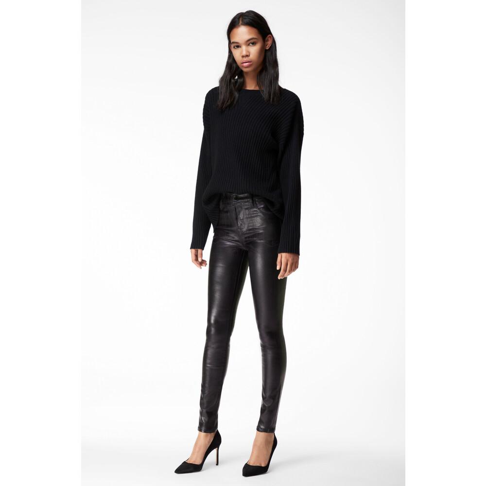 J Brand Maria High Rise Jeans Black