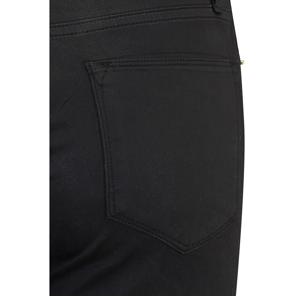 Frame Denim Le High Skinny Coated Jeans Black