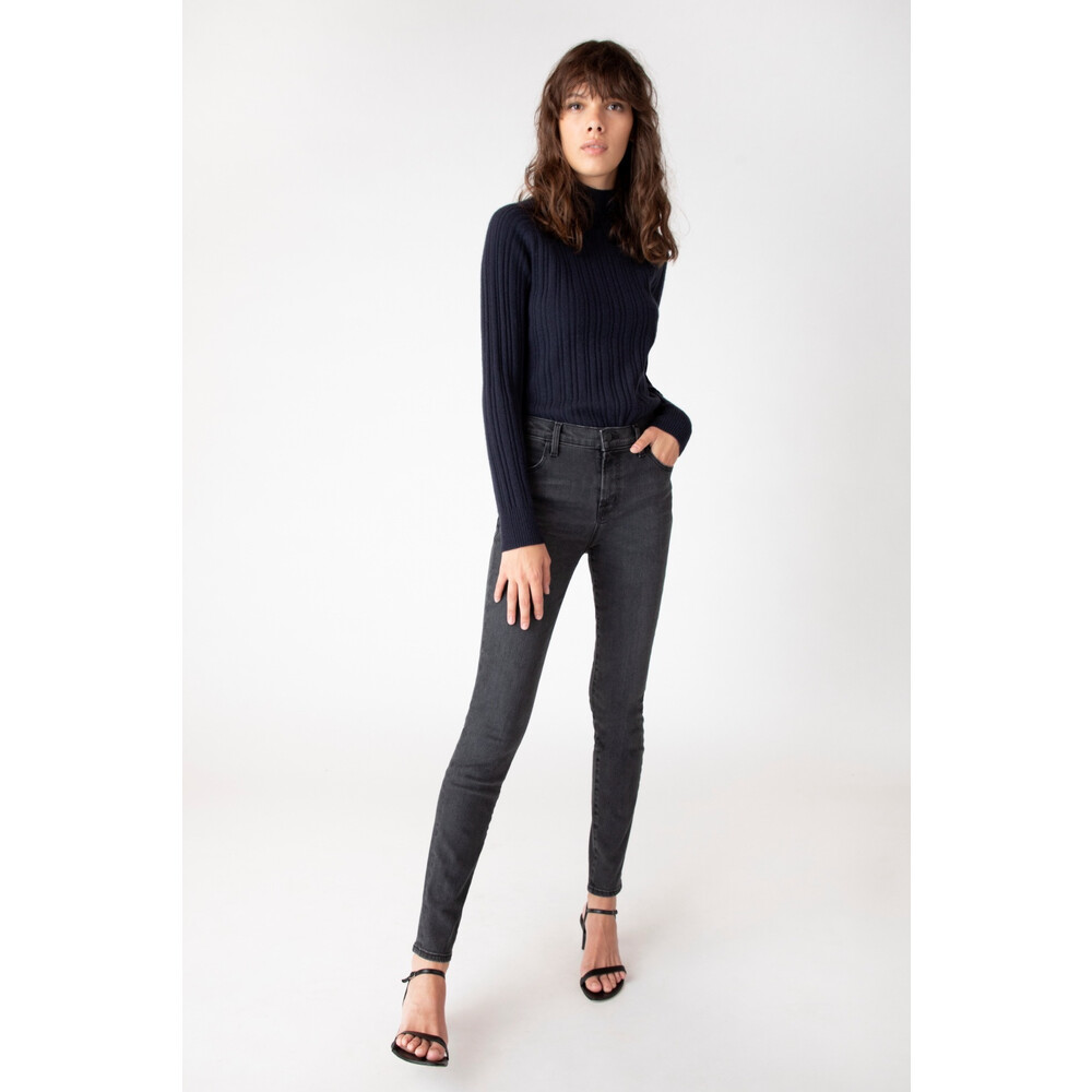 J Brand Maria High Rise Jeans in Grey Grey