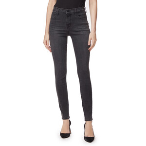J Brand Maria High Rise Jeans  in Grey