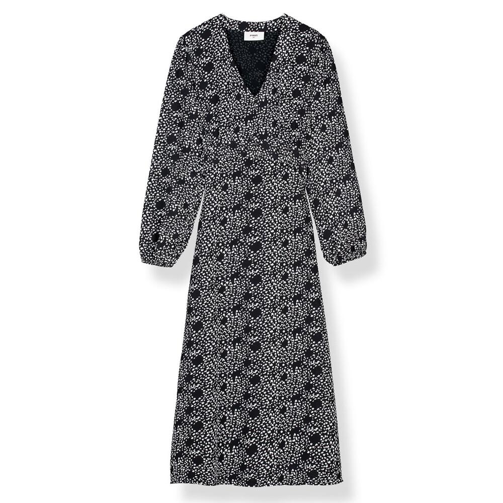 Pyrus Hazel Dress Feather Print