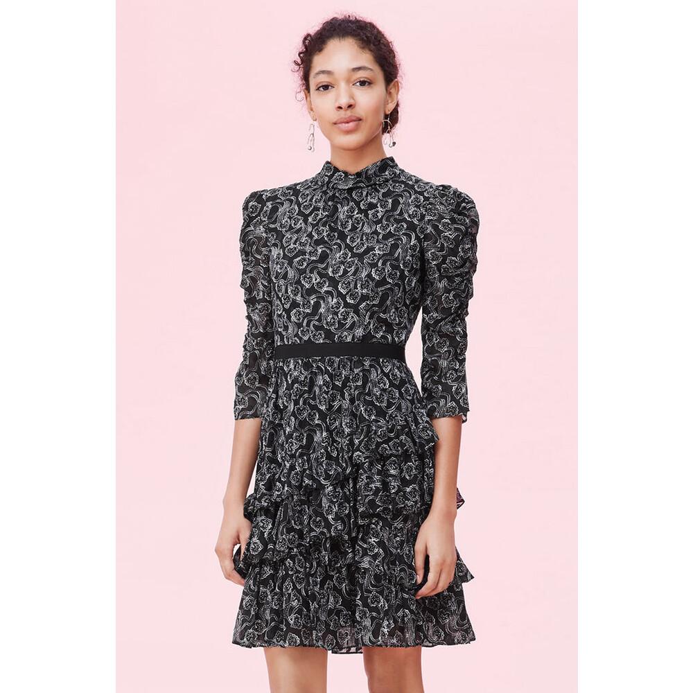 Rebecca Taylor Celia Lace Clip Dress