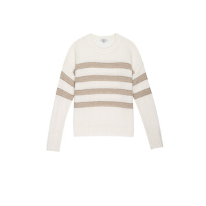 Rails Saturn Ivory Jute Stripe Jumper