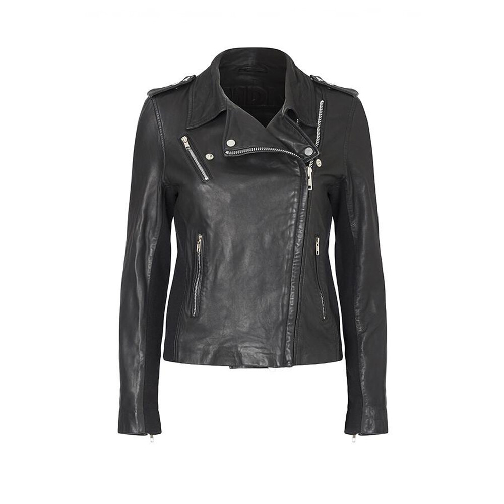 MDK Viola Leather Jacket Black