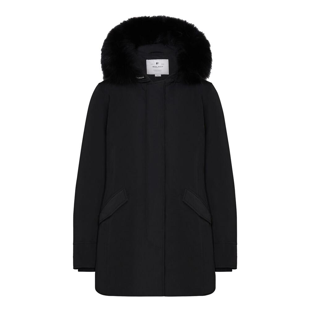 Woolrich Luxury Arctic Parka In Black Black