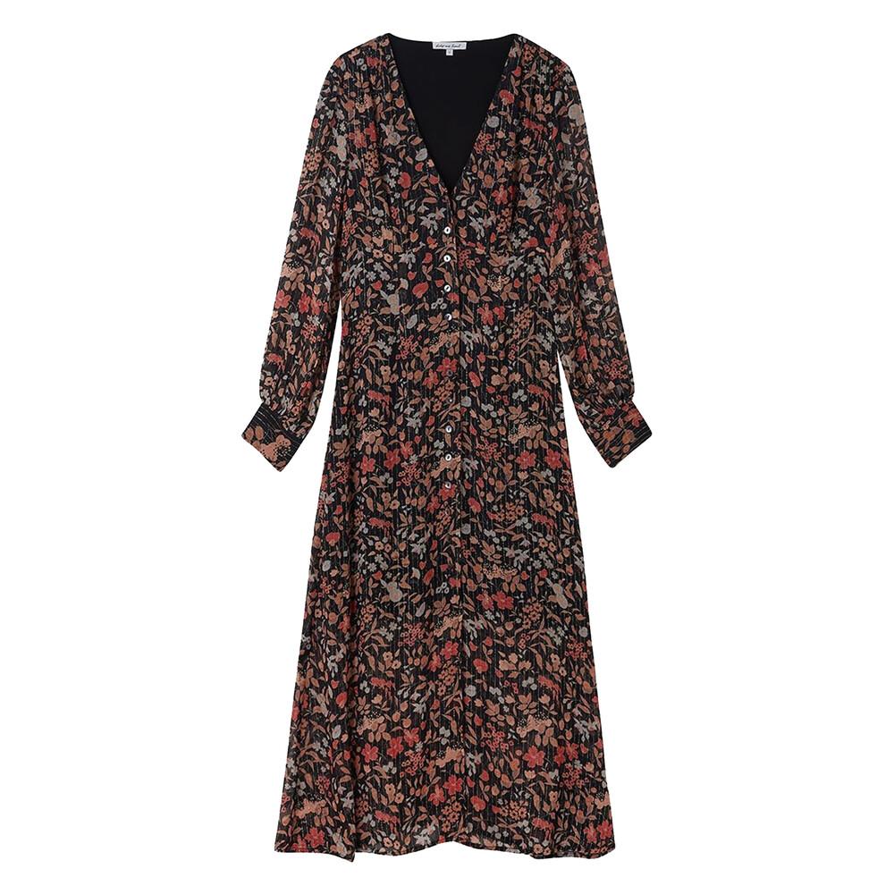Lily & Lionel Black Jasmine Wren Dress Black