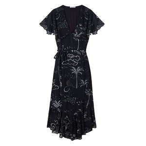 Lily & Lionel Mystic Palm Drew Dress