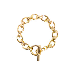 Tilly Sveaas Large Oval Linked Bracelet