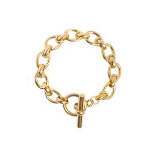 Tilly Sveaas Large Oval Linked Bracelet