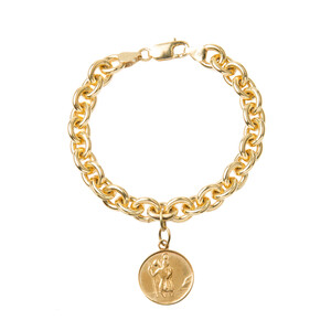 Tilly Sveaas St Christopher Bracelet