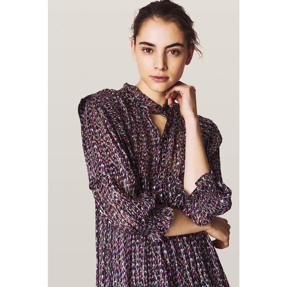 Ba&sh Robe Deep Dress Multicoloured