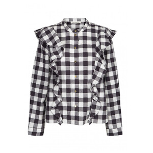 Sofie Schnoor Rose Checked Blouse