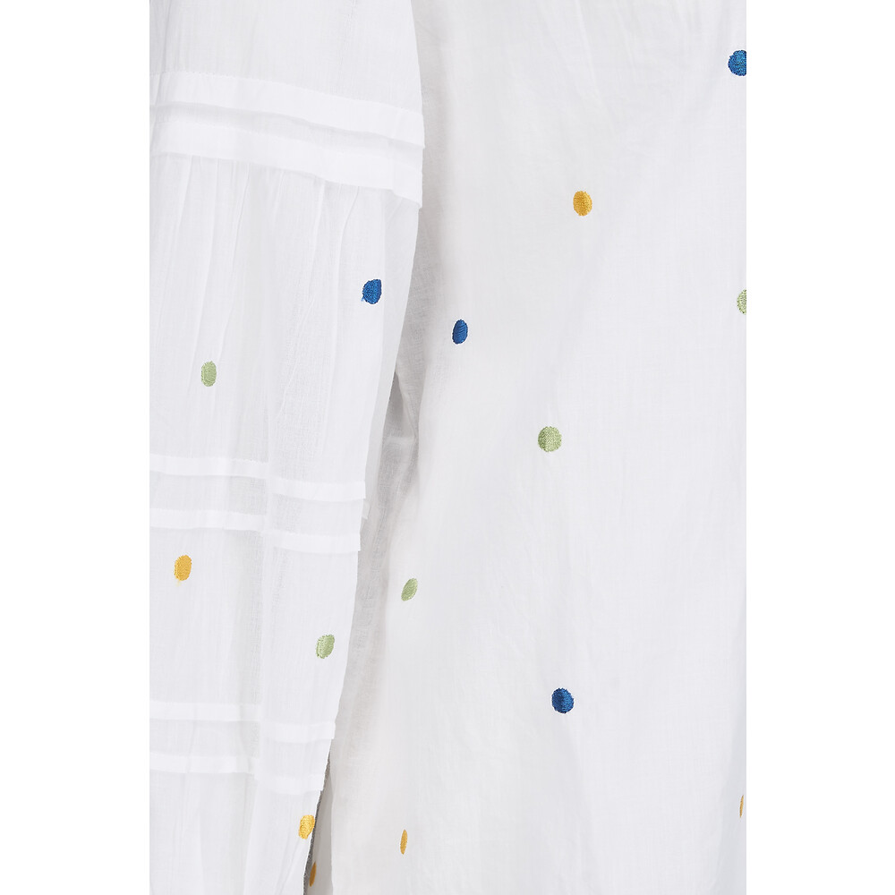 Velvet Dori Cotton Voile Blouse White