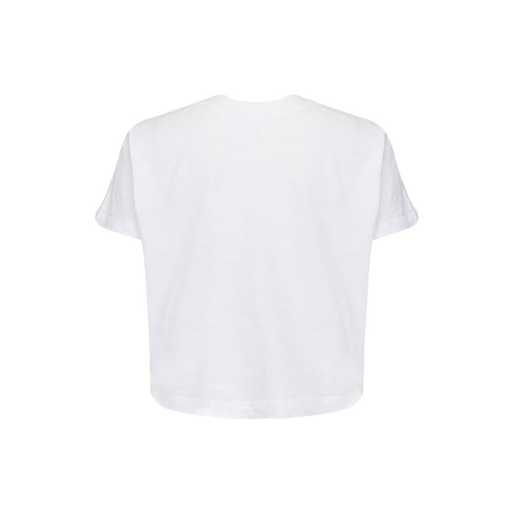 Velvet Sabel White T Shirt White