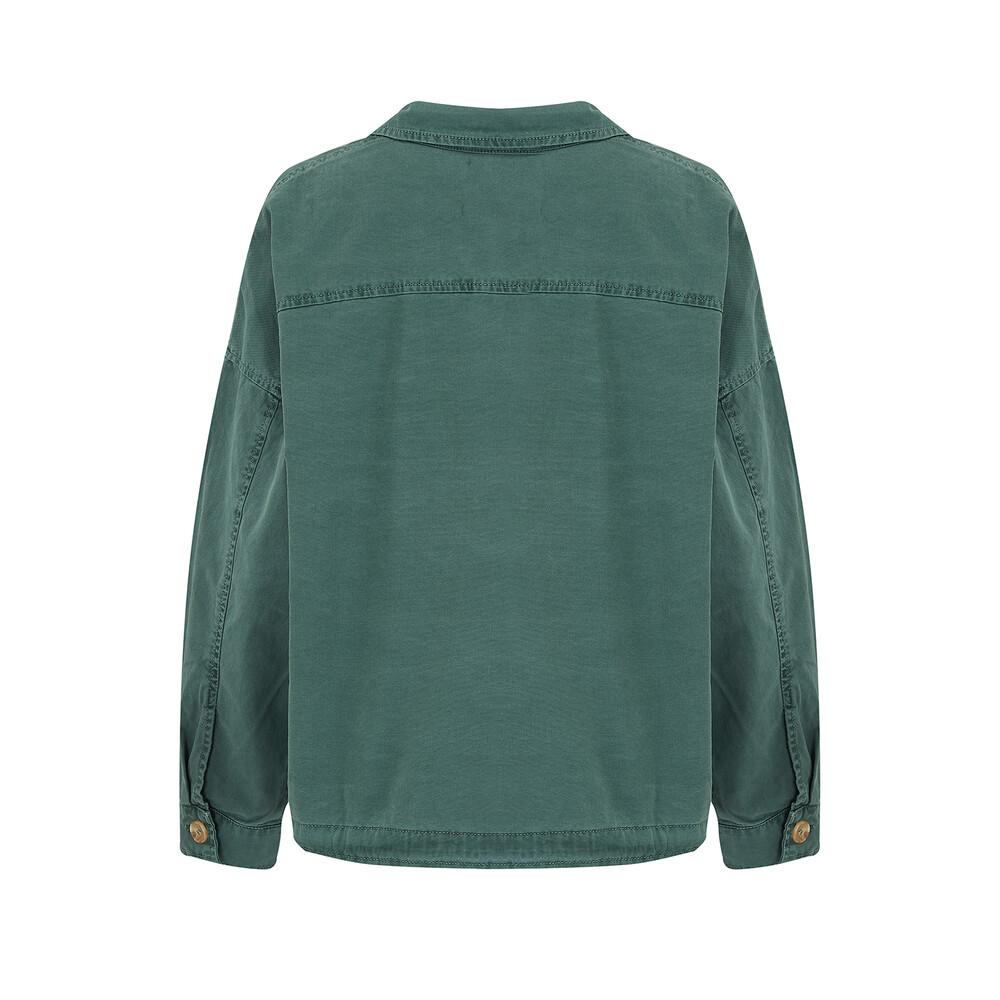Velvet Nicola Jacket Green