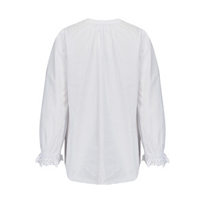 Velvet Penny Cotton Poplin Blouse