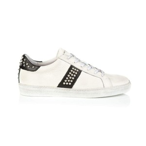 Air & Grace Cru Studded Black Trainers in Black