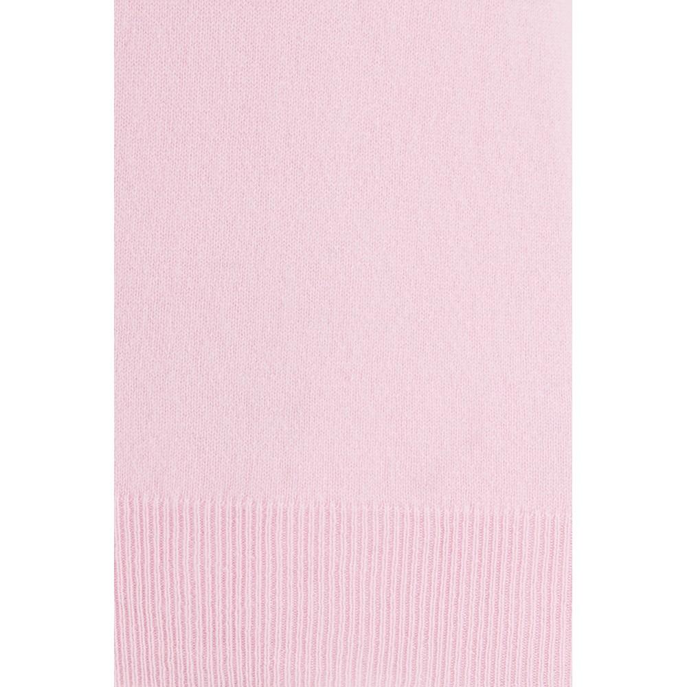 KatieAndJo Round Neck Cashmere Jumper in Pale Pink Pale Pink