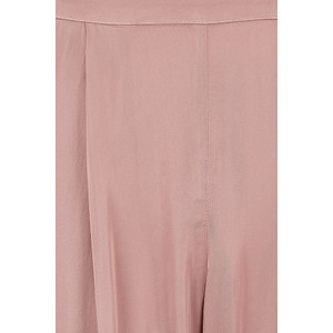 Velvet Hillary Satin Trousers in Pink