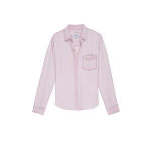 Rails Ingrid Raw Shirt in Dusty Rose