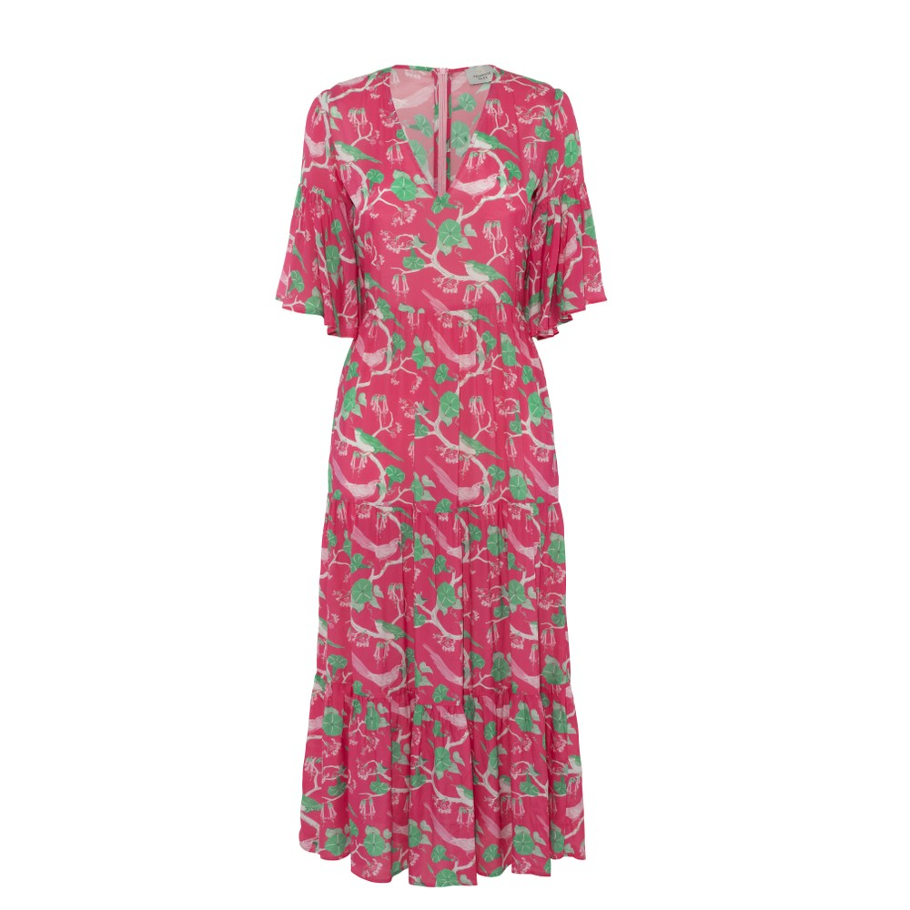 Primrose Park Alice Dress in Glorious Pink Pink