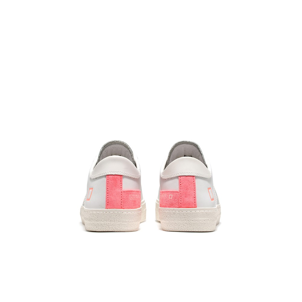 Date Hill Low Trainers Fluro Coral Pink