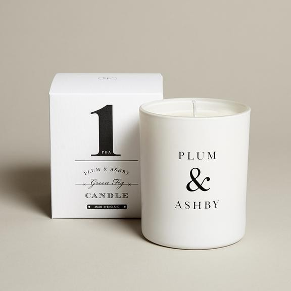 Plum & Ashby Green Fig Scented Candle