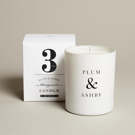 Plum & Ashby Pomegranate Candle None
