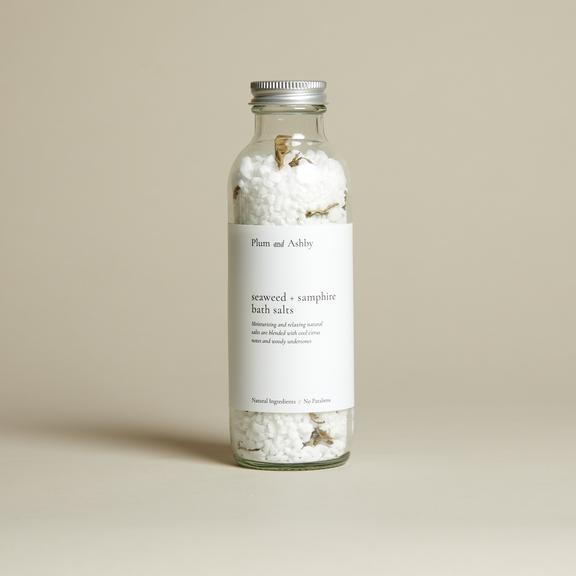 Plum & Ashby Seaweed & Samphire Bath Salts None
