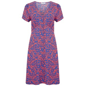Suncoo Carine Dress in Blue