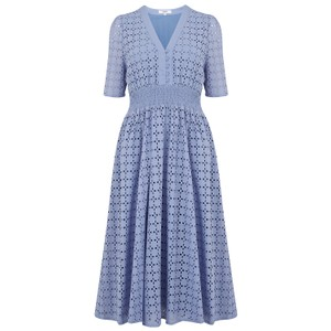 Suncoo Cabourg Dress in Blue