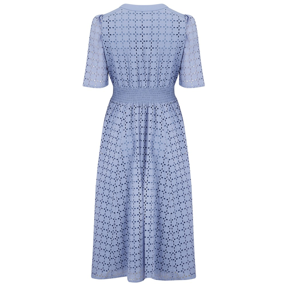 Suncoo Cabourg Dress in Blue Blue