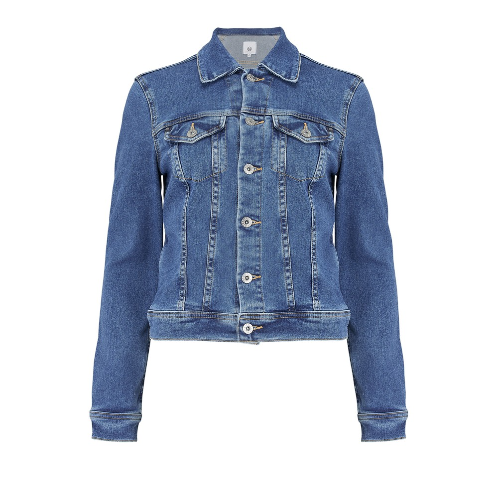 AG Jeans Robyn Denim Jacket in Prosperity Mid Denim
