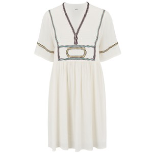 Ba&sh Talia Boho Dress in Cream