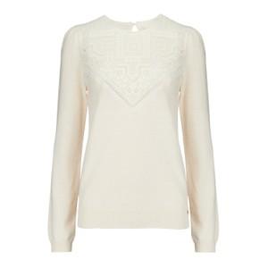 Des Petits Hauts Bloum Sweater in Cream