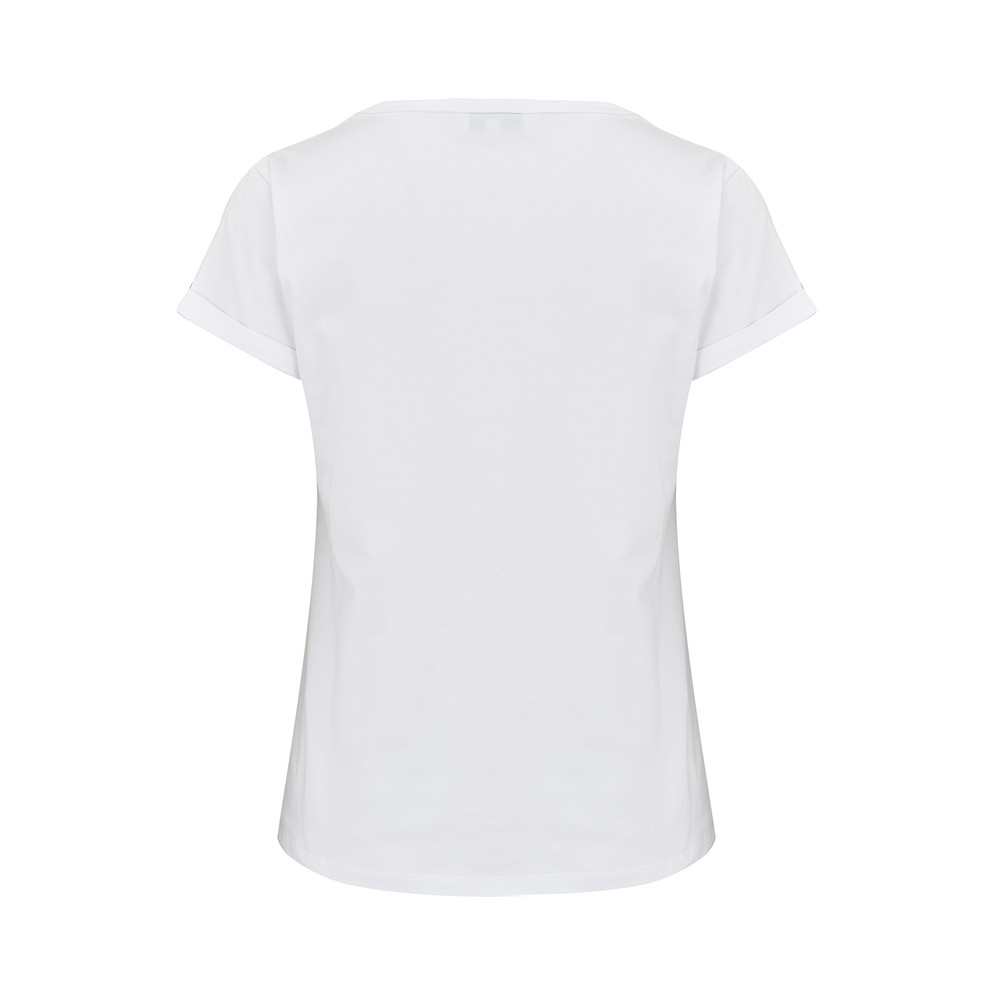 Maison Labiche Blondie Classic T Shirt White