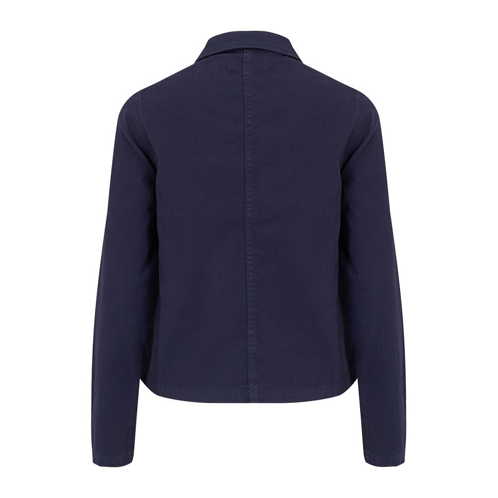 Maison Labiche Rever Vivre Woman Worker Jacket Dark Denim