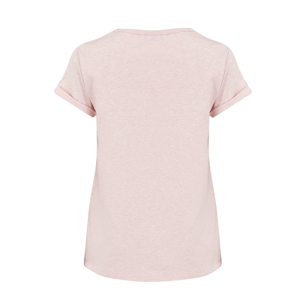 Maison Labiche Off Duty Classic T Shirt Pale Pink