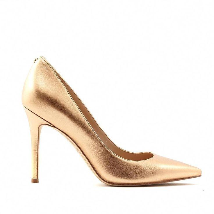 Sam Edelman Hazel Heels In Bronze Bronze